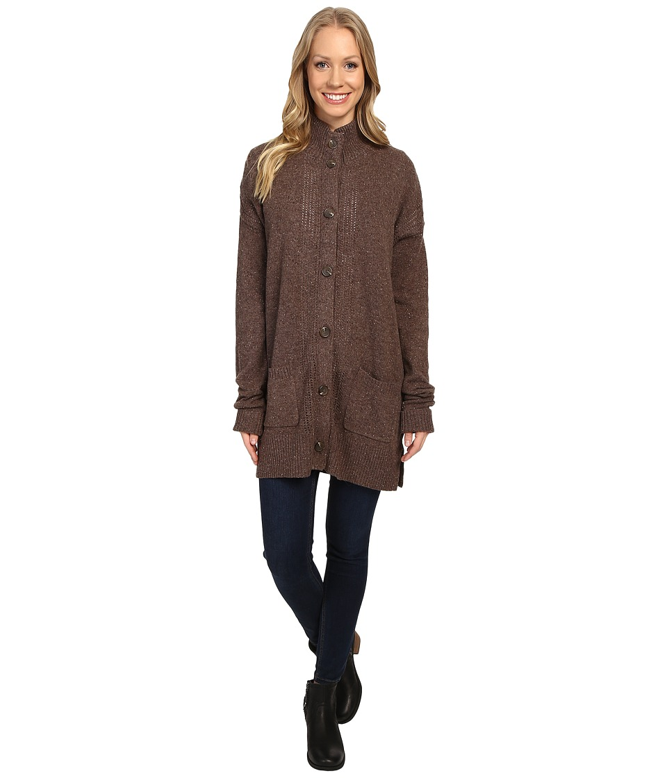 Royal Robbins - First Fleet Sweater Coat (Java) Women