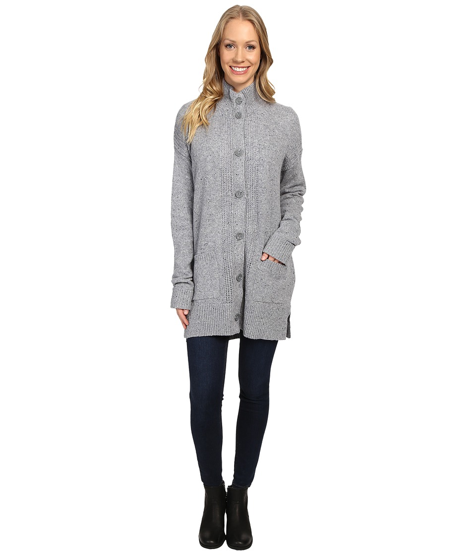 Royal Robbins - First Fleet Sweater Coat (Pewter) Women