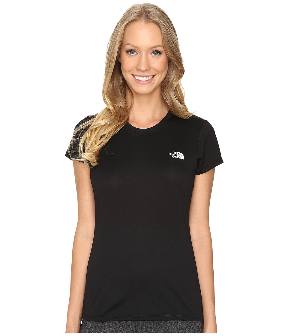 The North Face - Short Sleeve Reaxion Amp Tee (TNF Black/TNF White) Women