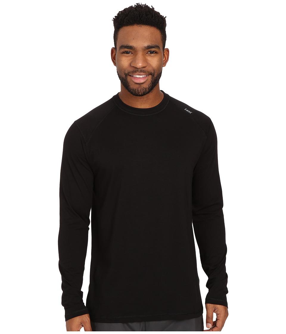 tasc Performance - Carrollton Long Sleeve Shirt (Black) M...