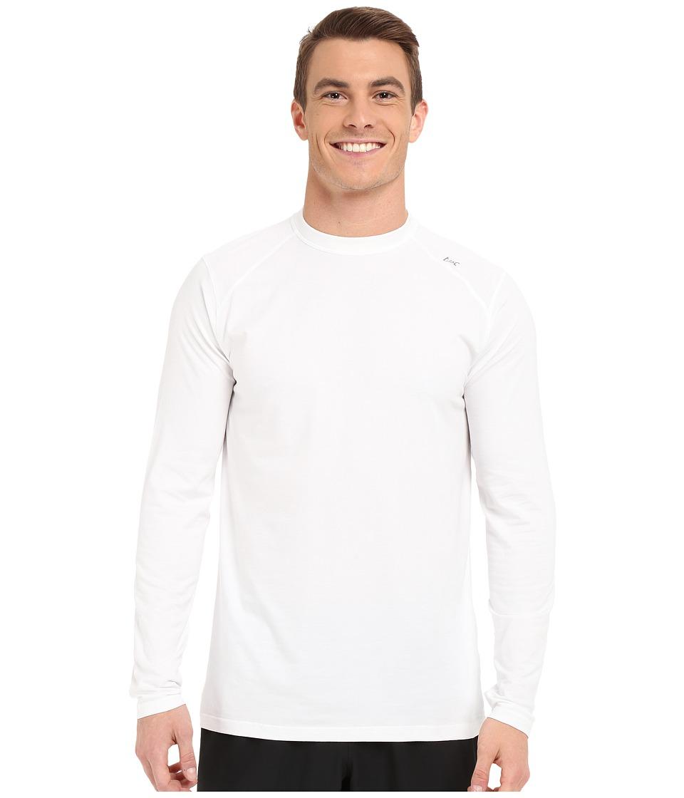 tasc Performance - Carrollton Long Sleeve Shirt (White) M...