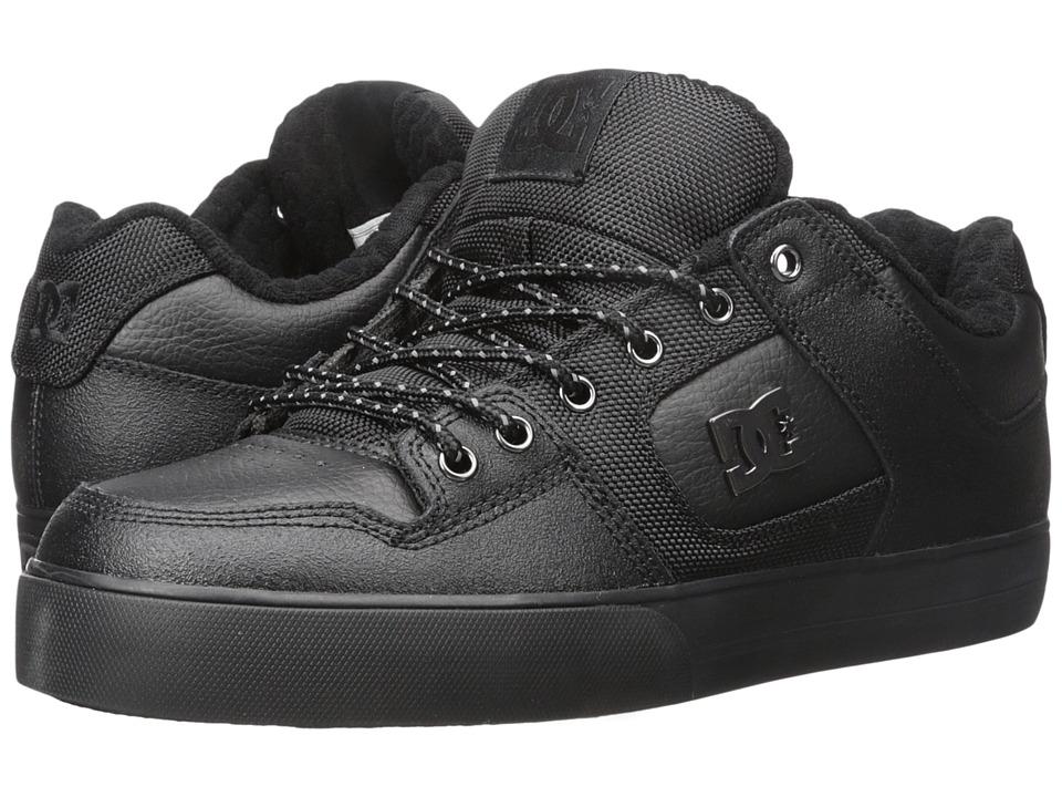 DC - Pure SE (Black 3) Mens Skate Shoes