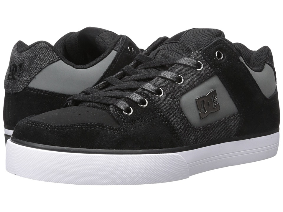 DC Pure SE (Black Destroy Wash) Men
