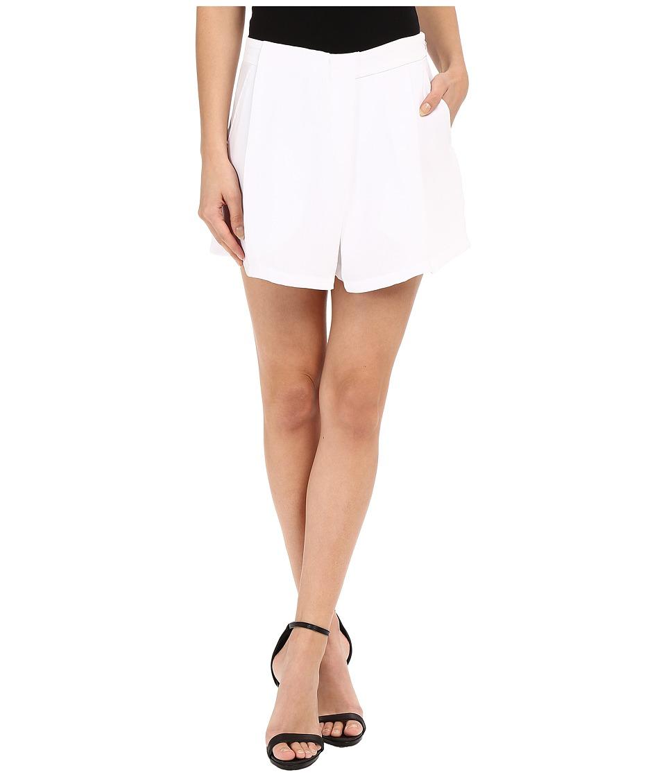 CATHERINE Catherine Malandrino Blanquita Shorts White Womens Shorts
