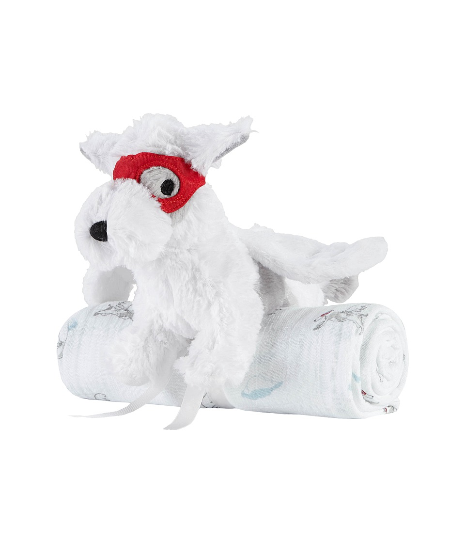 aden anais Plush Toy Classic Swaddle Dog/Liam the Brave Accessories Travel