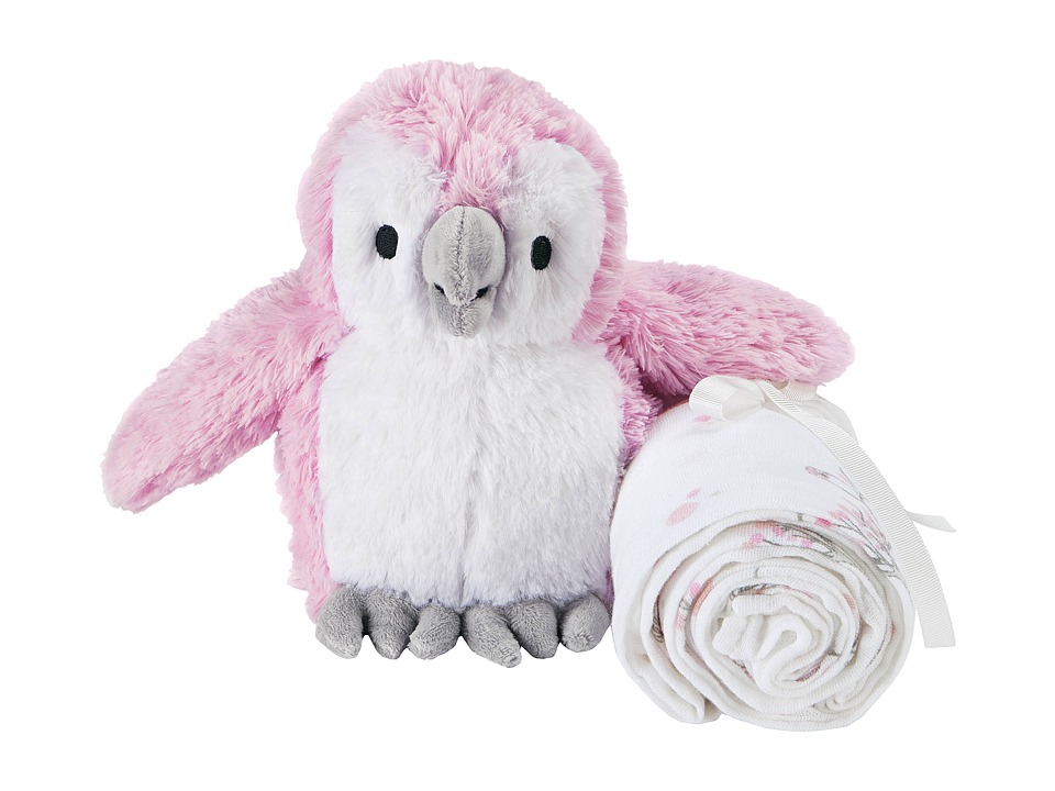 aden anais Plush Toy Classic Swaddle Owl/For the Birds Accessories Travel