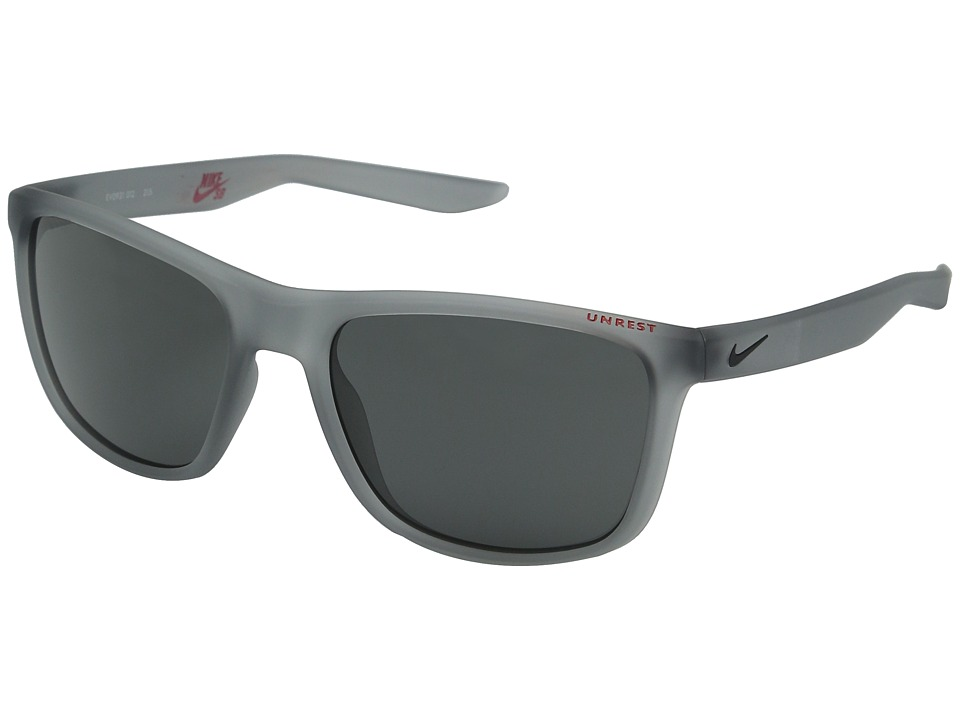 Nike Unrest (Matte Wolf Grey/Deep Pewter) Athletic Performance Sport Sunglasses
