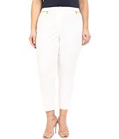 Calvin Klein Plus - Plus Size Ankle Pants w/ Zips