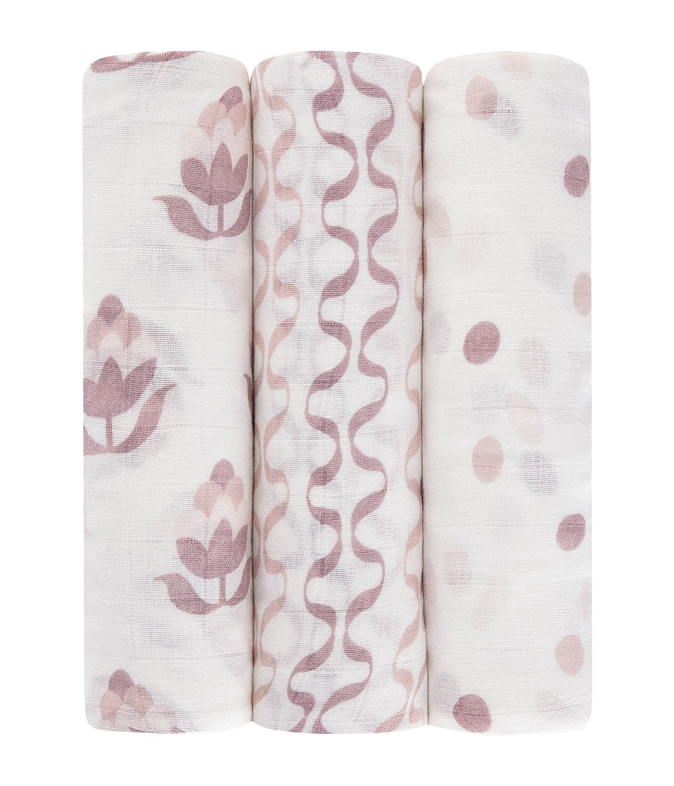 aden anais Petunia Pickle Bottom Silky Soft Swaddle 3 Pack Tuscan Twilight Accessories Travel