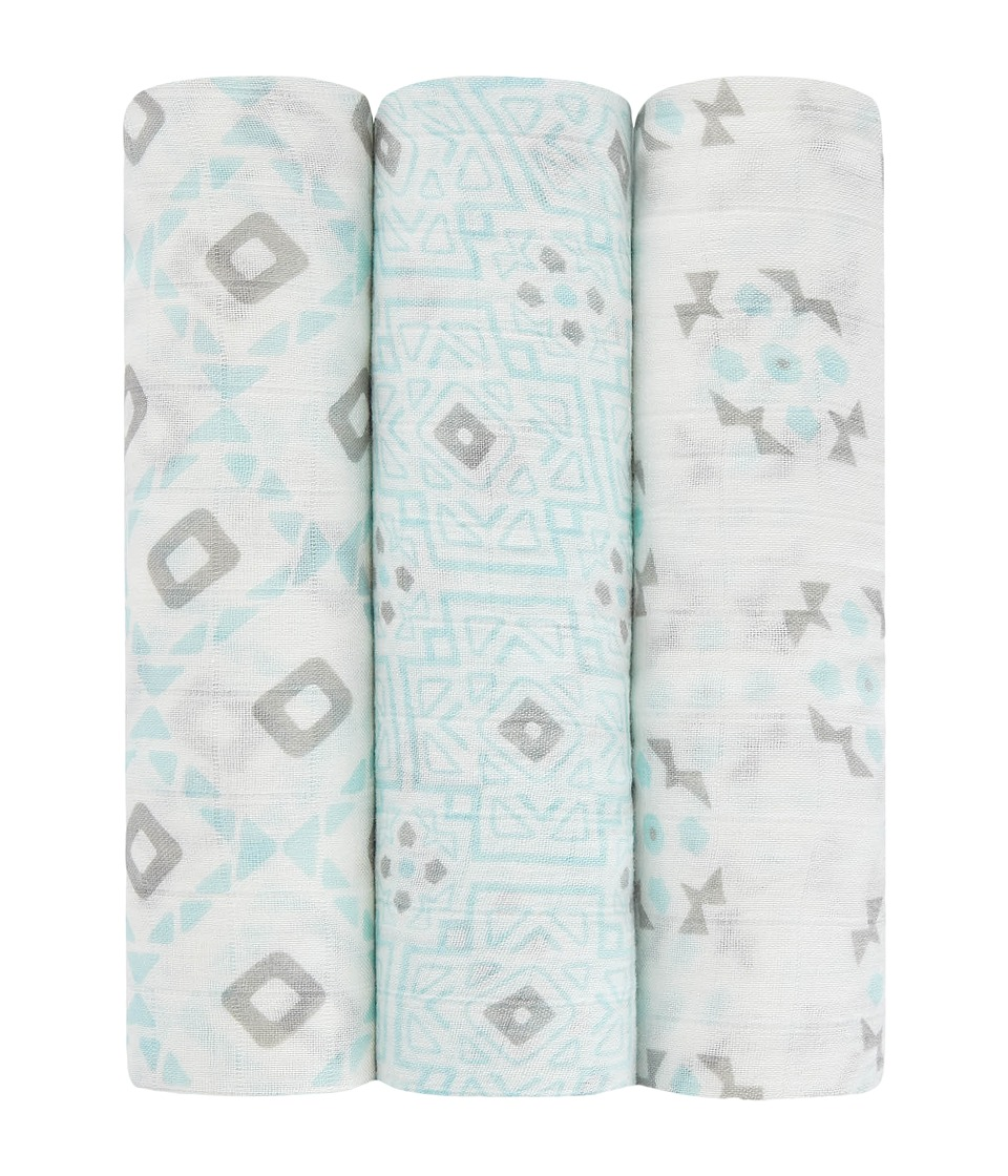aden anais Petunia Pickle Bottom Silky Soft Swaddle 3 Pack Sleepy Seychelles Accessories Travel