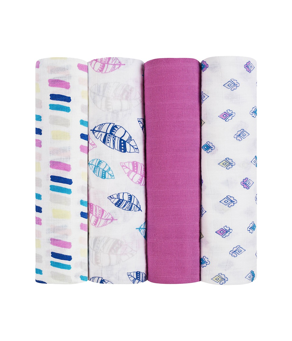 aden anais Classic Swaddling 4 Pack Wink Sheets Bedding