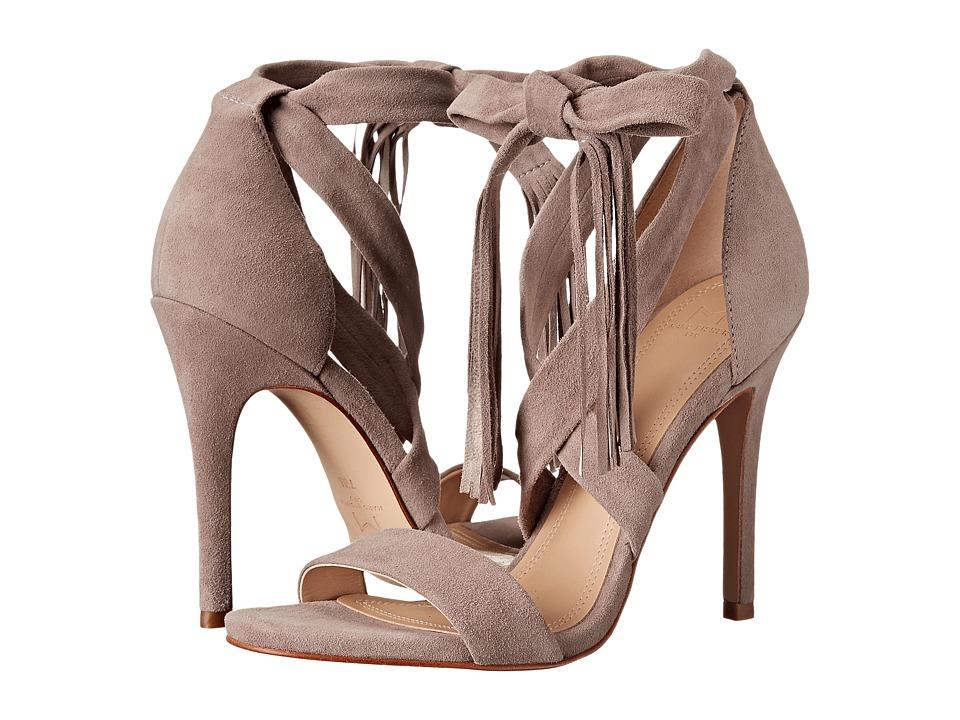 Marc Fisher LTD Lauren Light Khaki Suede High Heels