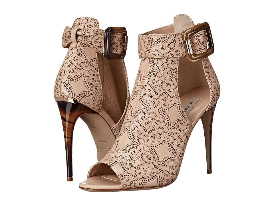 Burberry Canbury LC Antique Taupe Pink High Heels