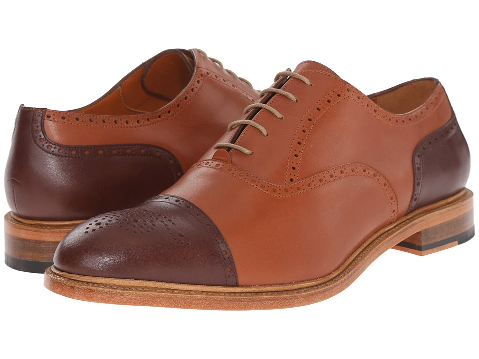 Crosby Square Jermyn Saddle Mens Lace up casual Shoes