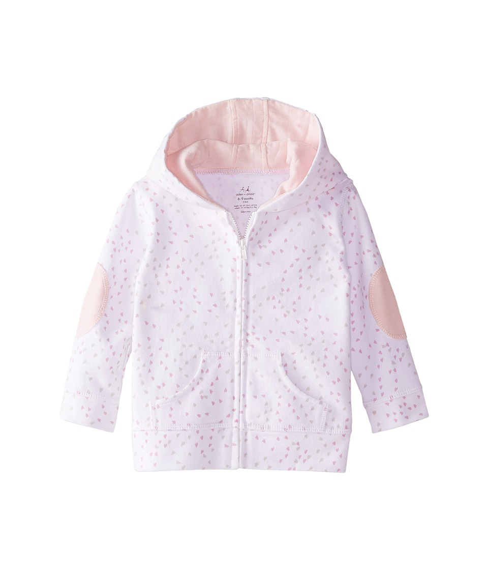 aden anais Hoodie Infant Lovely Mini Hearts Kids Sweatshirt