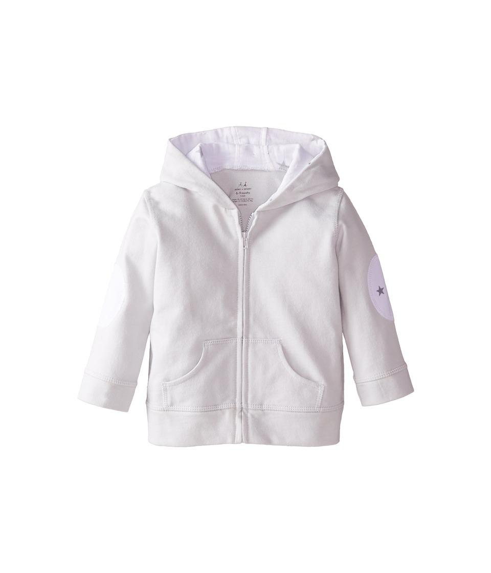 aden anais Hoodie Infant Silver Kids Sweatshirt