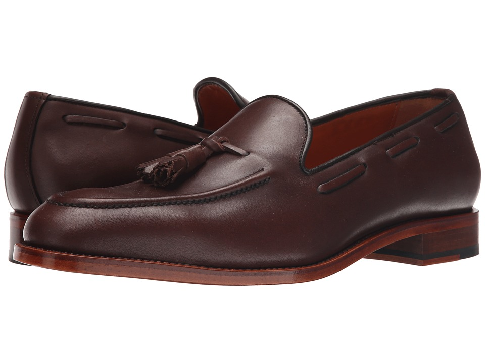Crosby Square Ainsley Mahogany Mens Slip on Shoes