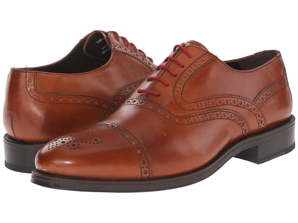 Crosby Square Tanger Cognac Mens Lace up casual Shoes