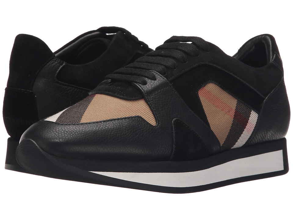 Burberry Field Sneaker (House Check/Black) Women