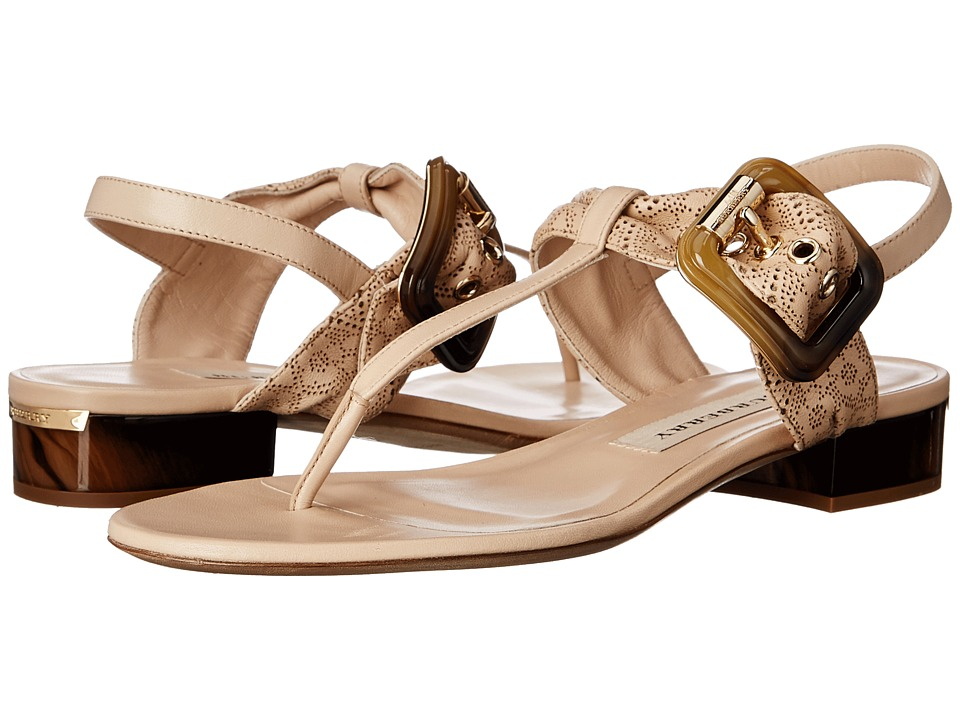 Burberry Ceilab LC Antique Taupe Pink Womens Sandals