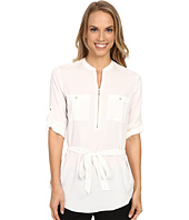 Calvin Klein - Tunic Blouse with Belt