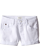 Hudson Kids - 2 1/2 Roll Shorts in White (Big Kids)