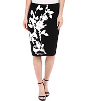 Calvin Klein - Printed Sweater Skirt