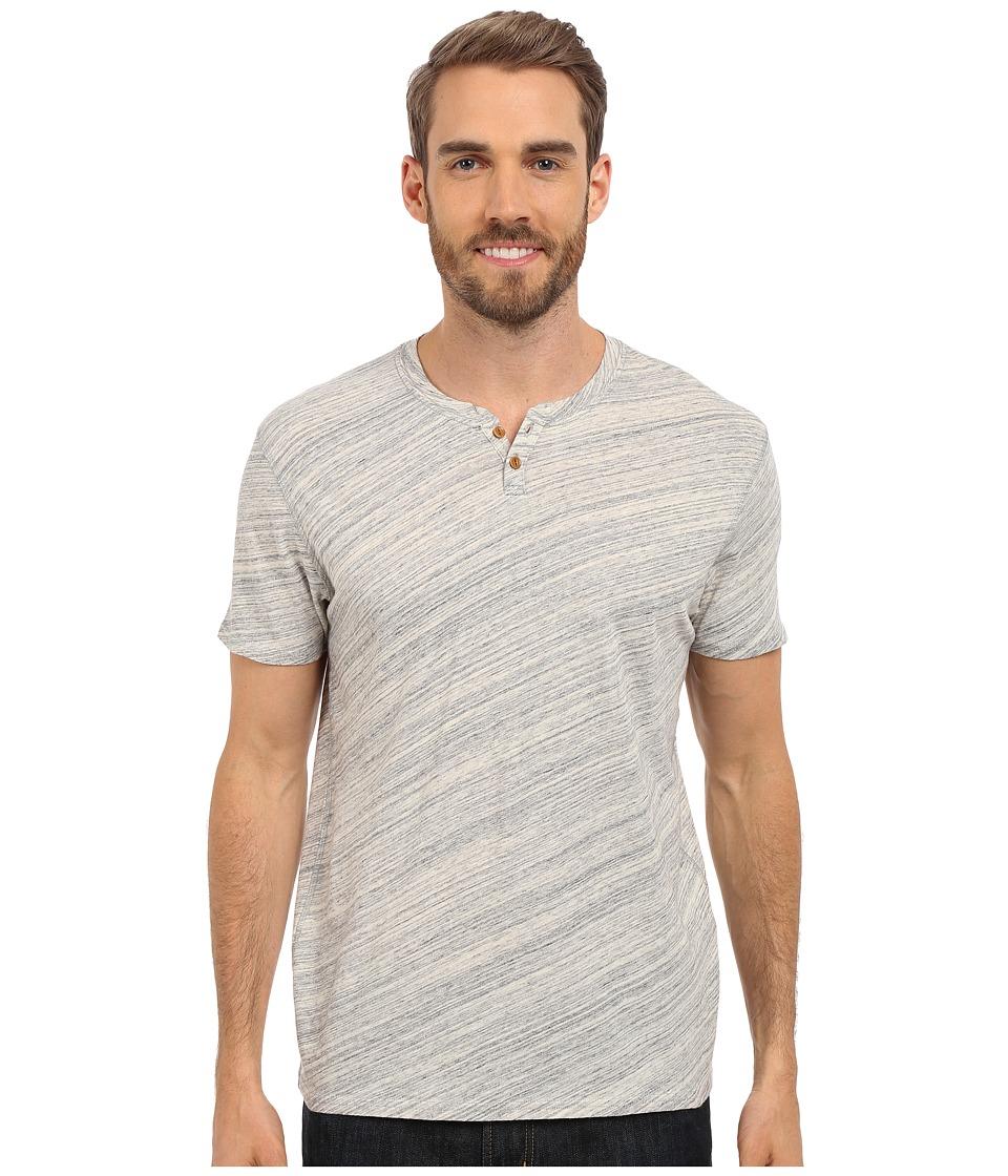 Lucky Brand Notch Tee Heather Grey Mens T Shirt