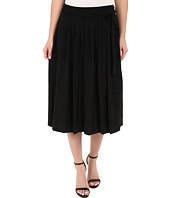 Calvin Klein - Pleat Midi Skirt w/ Tie