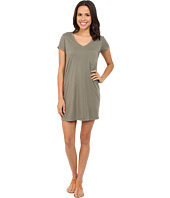 Michael Stars - Short Sleeve V-Neck Tee Dress