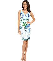 Calvin Klein - Print V-Neck Sheath