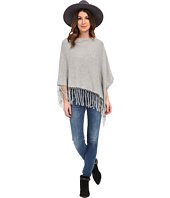 Dylan by True Grit - Fringe Sweater Poncho