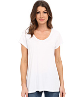 Dylan by True Grit - Luxe Cotton Modal Short Sleeve V Tee