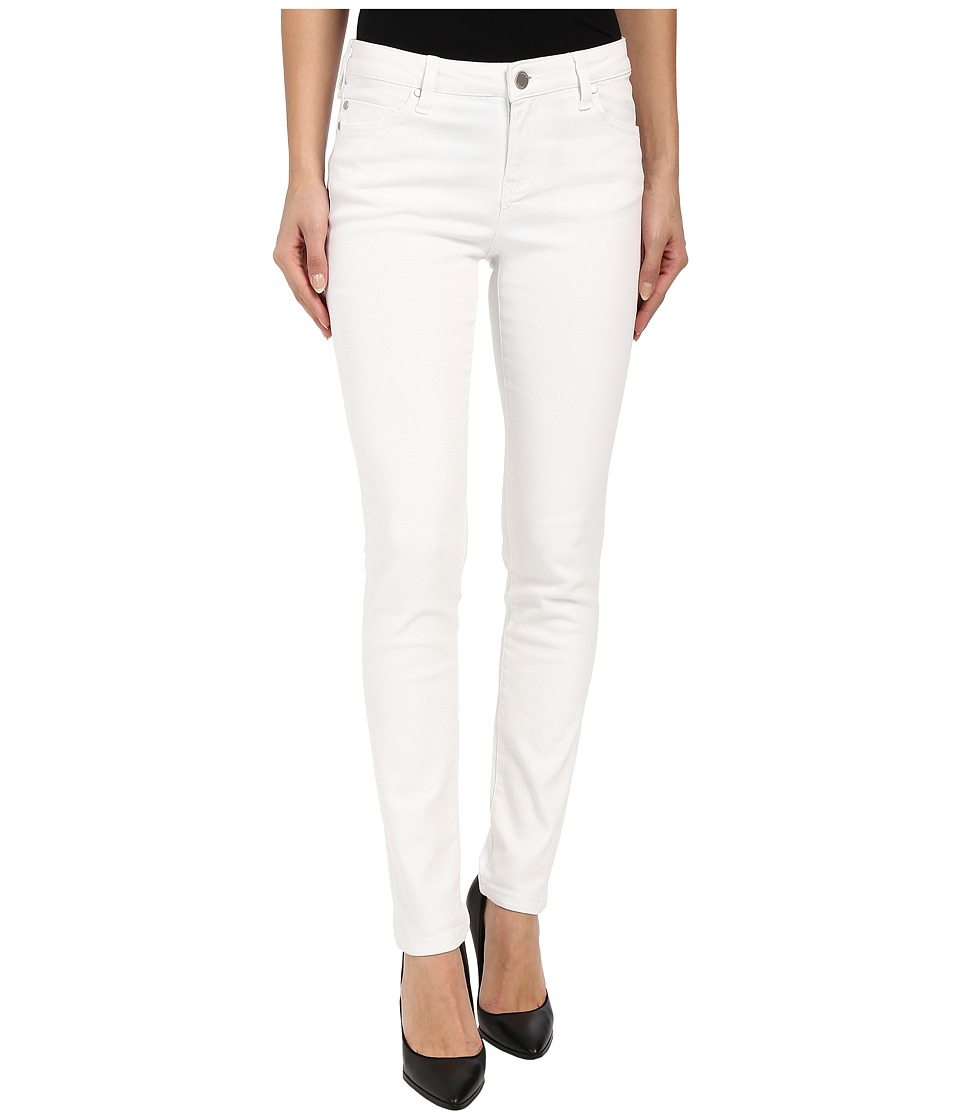 Liverpool Abby Lightweight Skinny Jeans in Bright White Bright White Womens Jeans