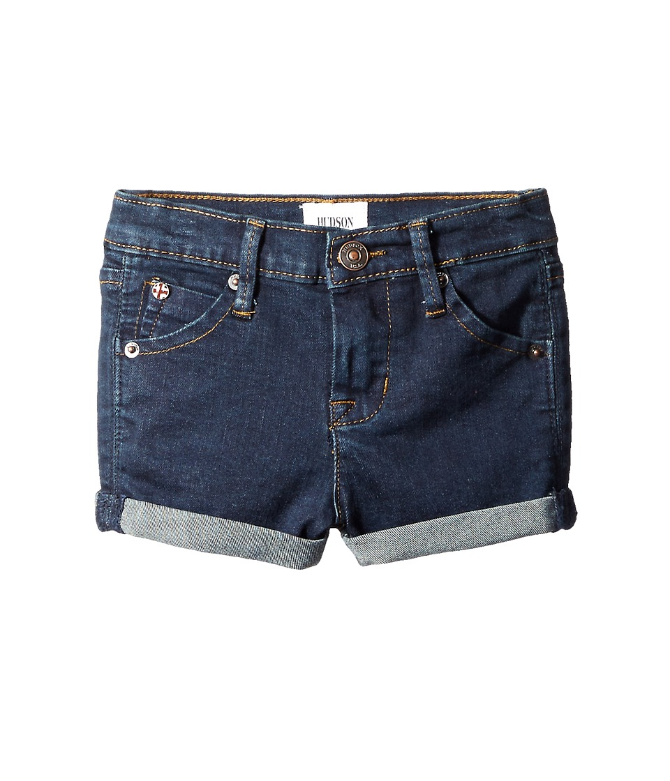 Hudson Kids 2 1/2 Roll Shorts in Pressed Rinse Toddler/Little Kids Pressed Rinse Girls Shorts