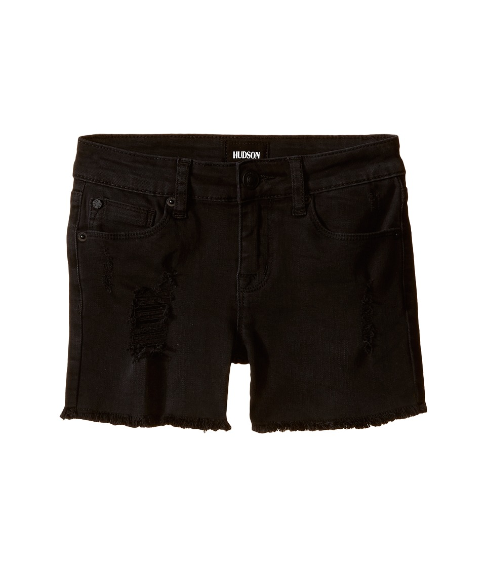 Hudson Kids 3 Fray Shorts in Clash Wash Big Kids Clash Wash Girls Shorts