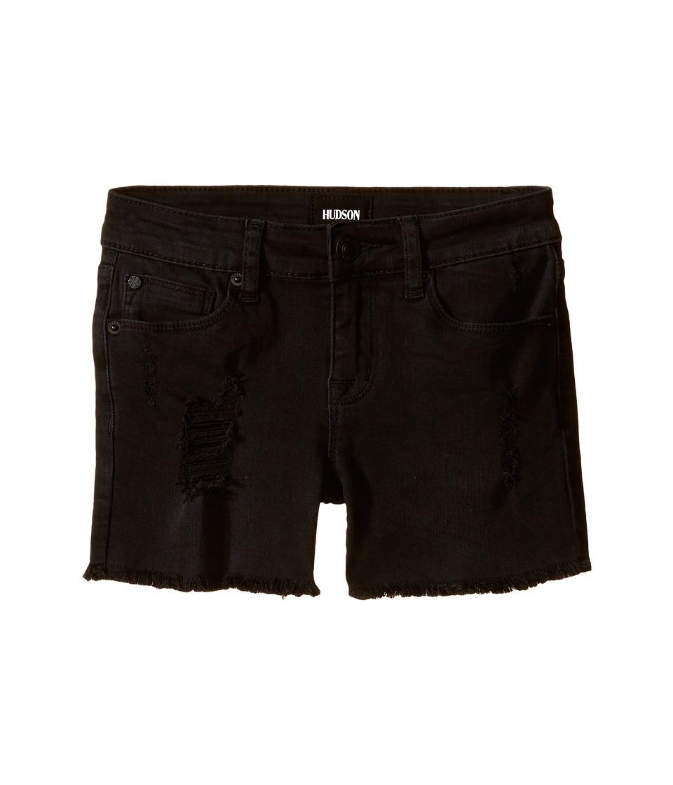 Hudson Kids 3 Fray Shorts in Clash Wash Big Kids Clash Wash Girls Shorts