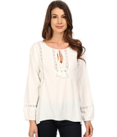 Dylan by True Grit - Dreamcatcher Lace Tie Top