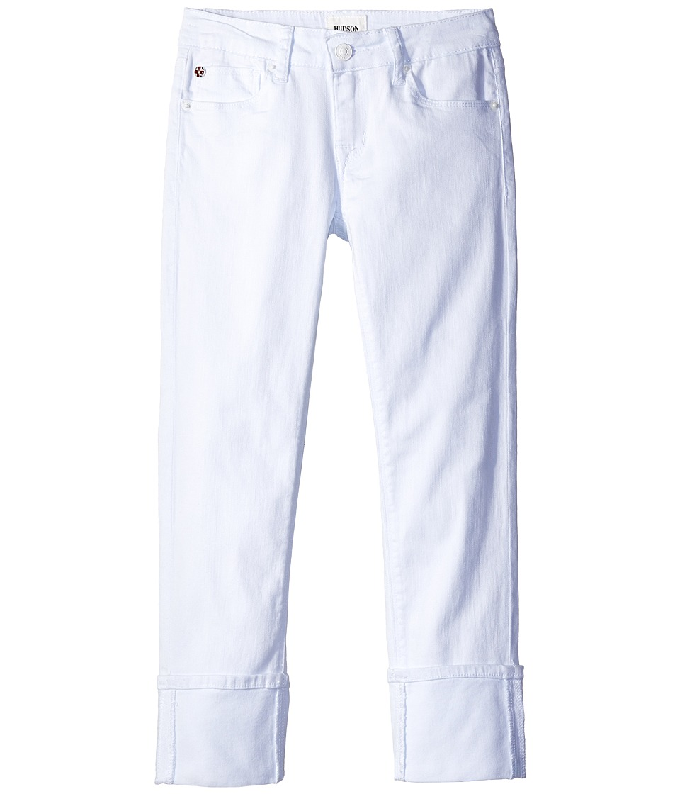 Hudson Kids - Ginny Crop Jeans in White (Big Kids) (White) Girls Jeans