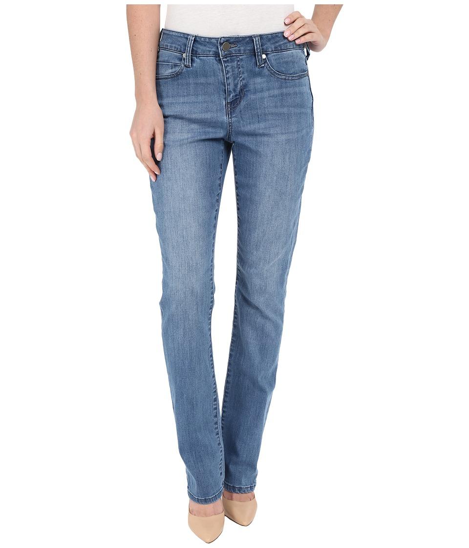 Liverpool Anthem Curvy Sadie Straight Leg Jeans in Melbourn Light Blue Melbourn Light Blue Womens Jeans