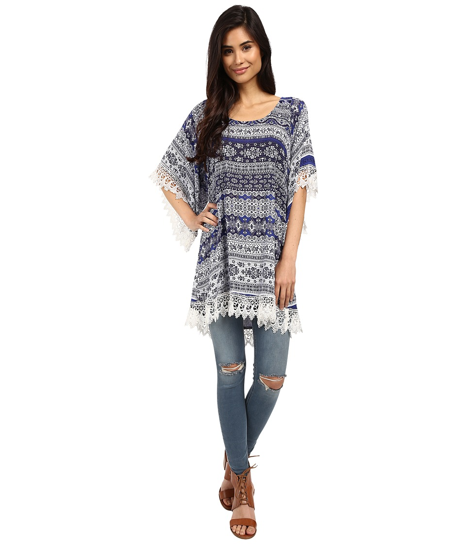 Lucy Love In Heaven Tunic Spa Weekend Womens Blouse
