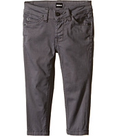 Hudson Kids - Jagger Twill Pants in Mid Grey (Toddler/Little Kids/Big Kids)