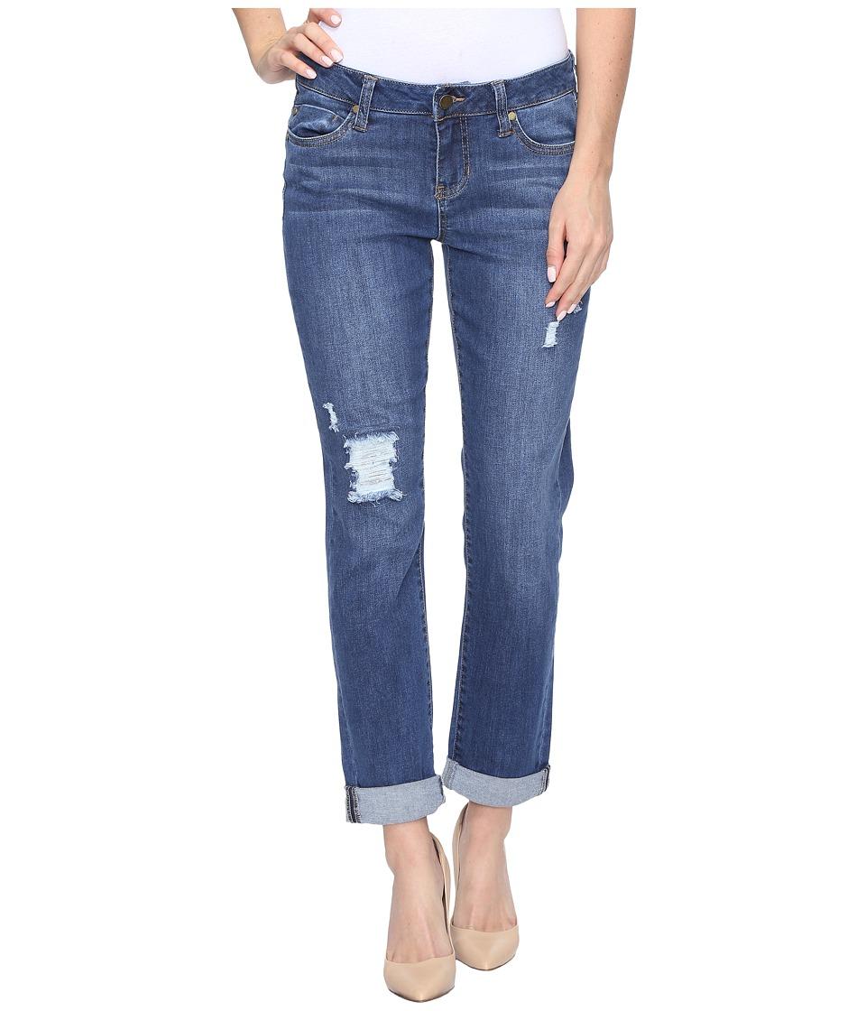 Liverpool - Peyton Boyfriend Jeans in Montauk Mid Blue (Montauk Mid Blue) Womens Jeans