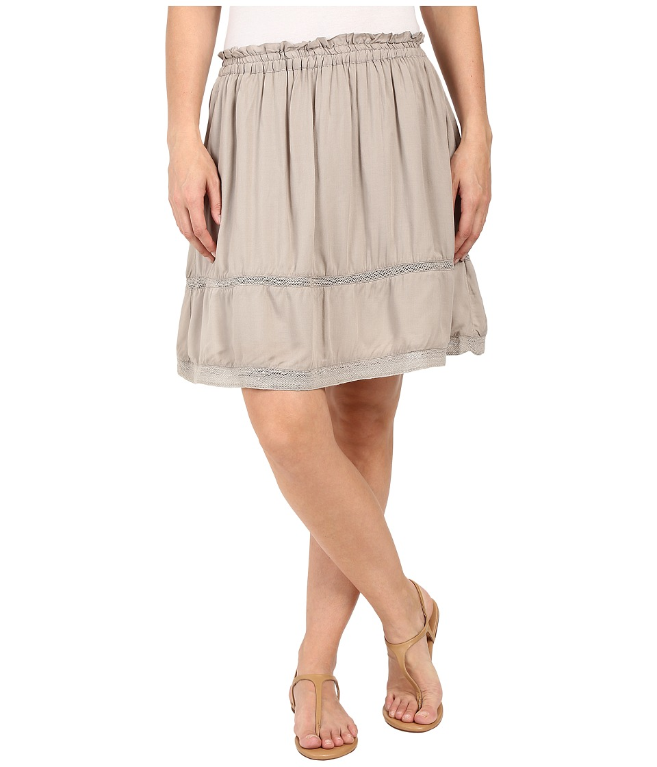 Dylan by True Grit Dream Cotton at Ease Pocket Skirt Soft Olive Womens Skirt