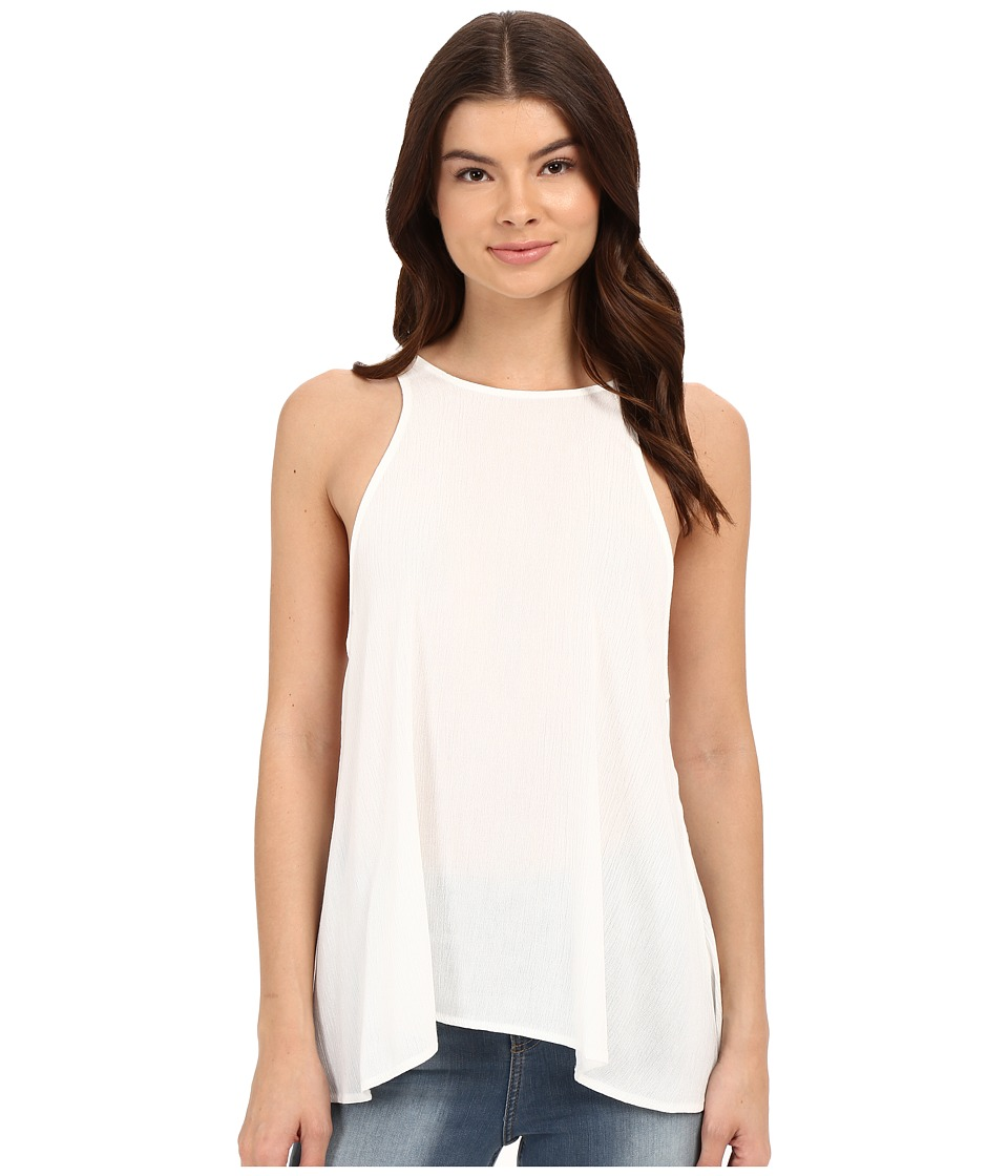 Lucy Love Charlie Tank Top White Womens Sleeveless