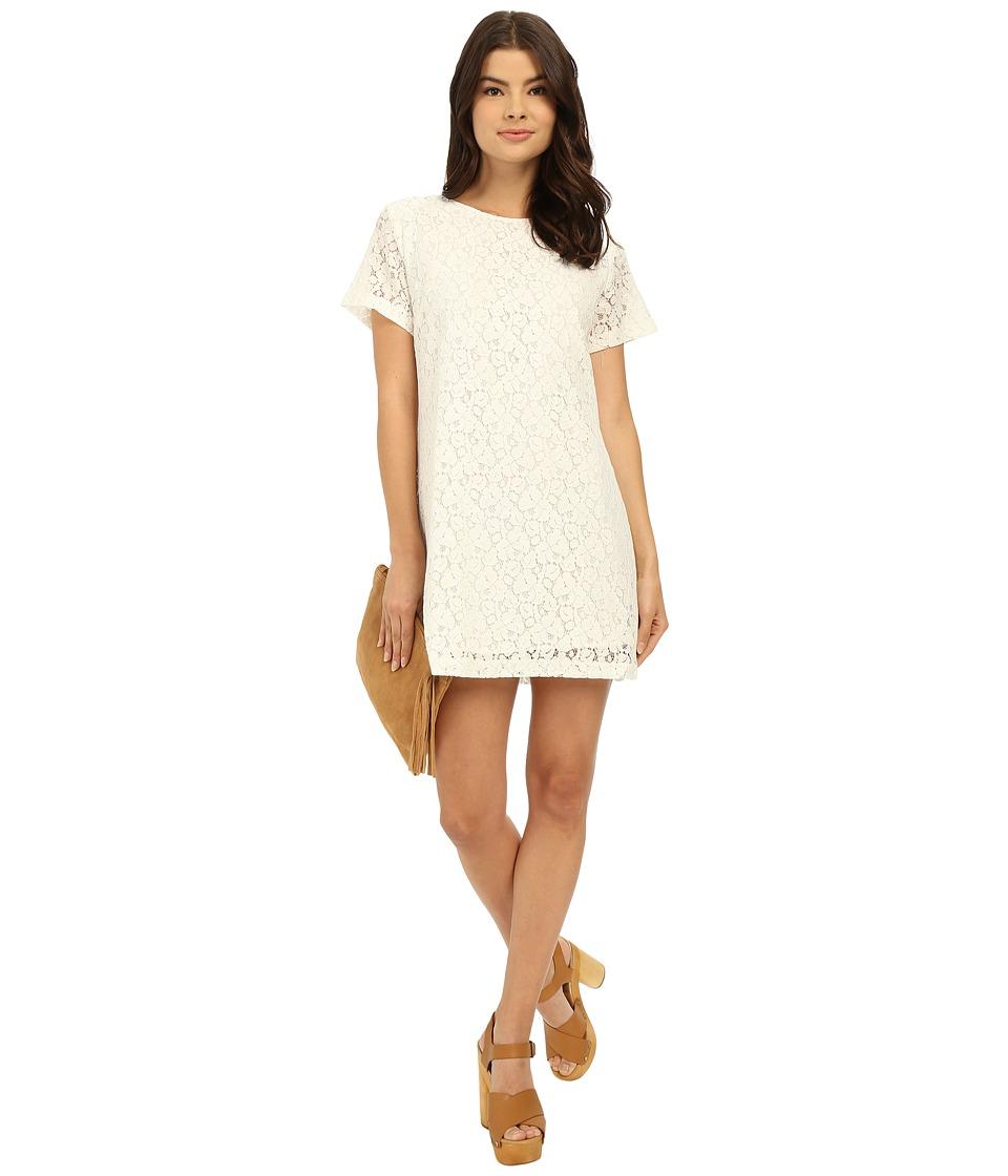 Lucy Love Charlotte Shift White Womens Dress