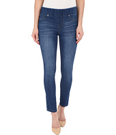 Liverpool - Sienna Pull-On Silky Soft Denim Ankle Jeans in Lanier Mid Blue