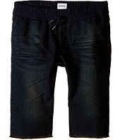 Hudson Kids - Knit Denim Shorts in Garage Wash Blue (Big Kids)
