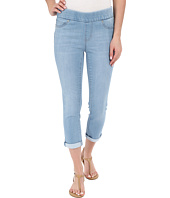 Liverpool - Sienna Pull-On Silky Soft Denim Capris in Delton Light Blue