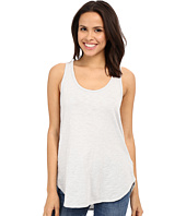 Dylan by True Grit - Soft Gauzy Cotton Knit High-Low Tank Top